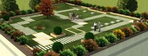 Progetto Rederin di un Giardino